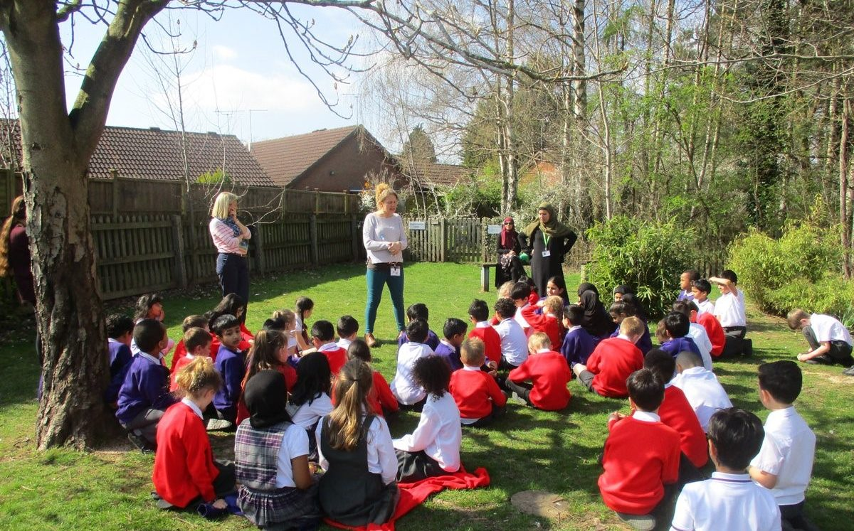 Pupils take part in interfaith friendship link